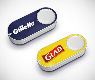 Amazon Dash Button Glad and Gillette